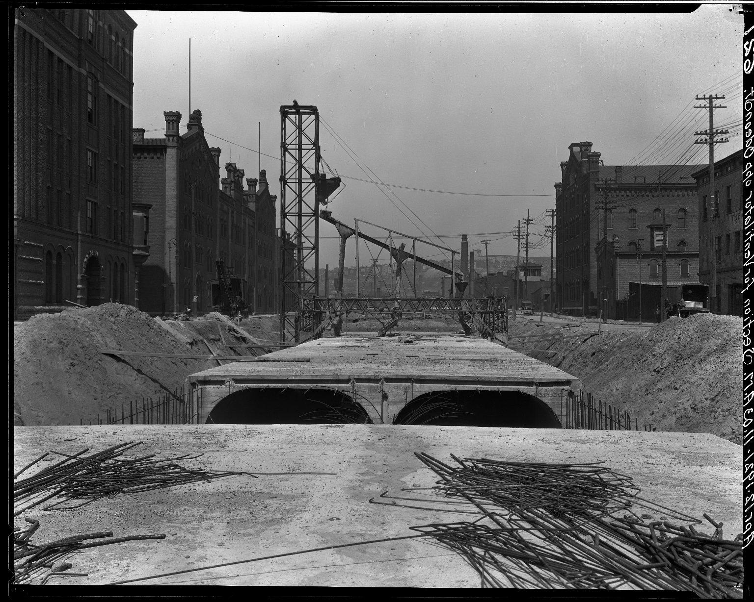Rapid Transit Photographs -- Box 15, Folder 11 (April 12, 1921) -- negative, 1921-04-12, 11:02 A.M.