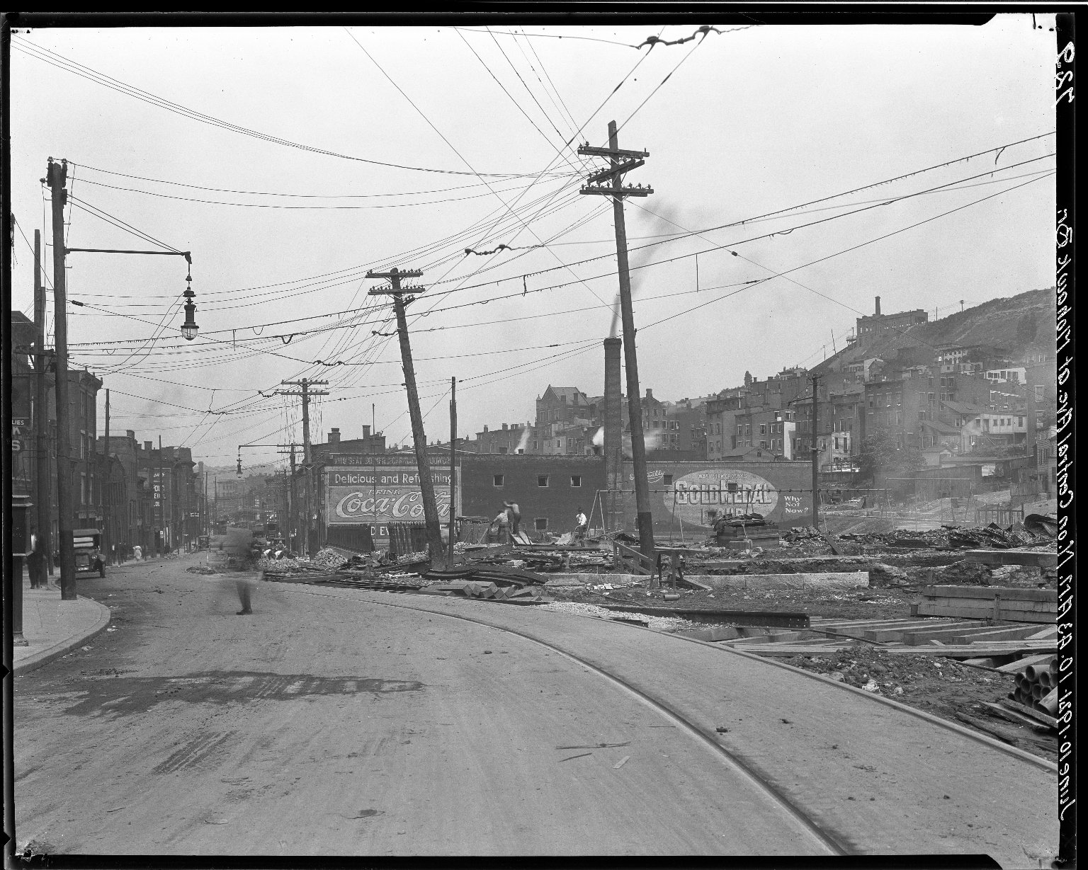 Rapid Transit Photographs -- Box 15, Folder 29 (June 10, 1921) -- negative, 1921-06-10, 10:43 A.M.