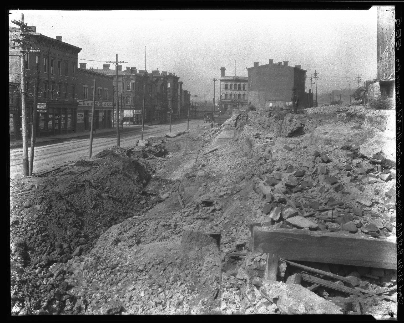 Rapid Transit Photographs -- Box 16, Folder 16 (September 28, 1921) -- negative, 1921-09-28, 9:59 A.M.