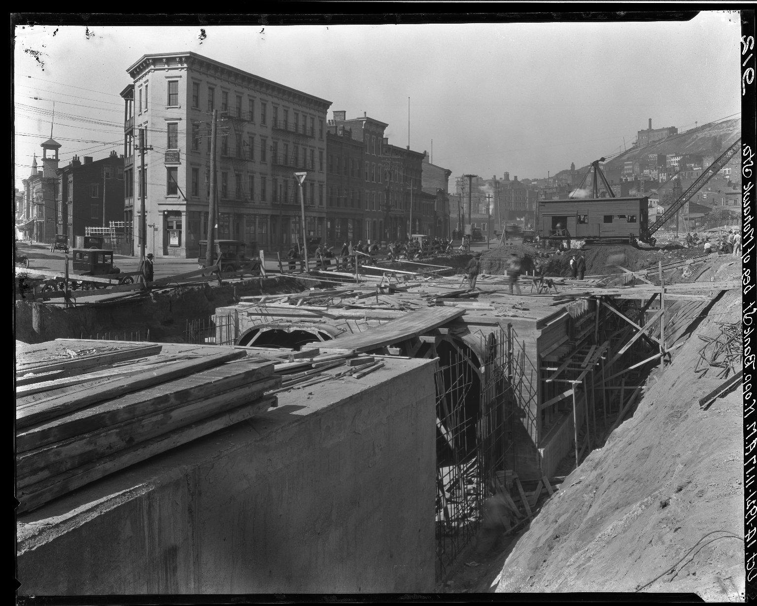 Rapid Transit Photographs -- Box 16, Folder 19 (October 14, 1921) -- negative, 1921-10-14, 11:17 A.M.