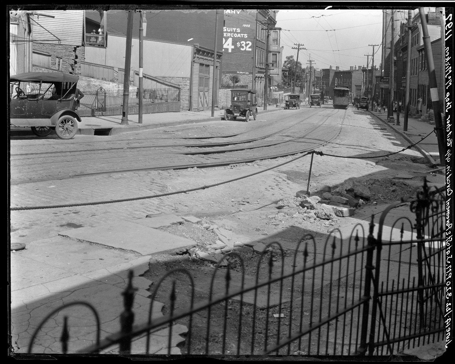 Rapid Transit Photographs -- Box 17, Folder 18 (June 14, 1922) -- negative, 1922-06-14, 3:20 P.M.