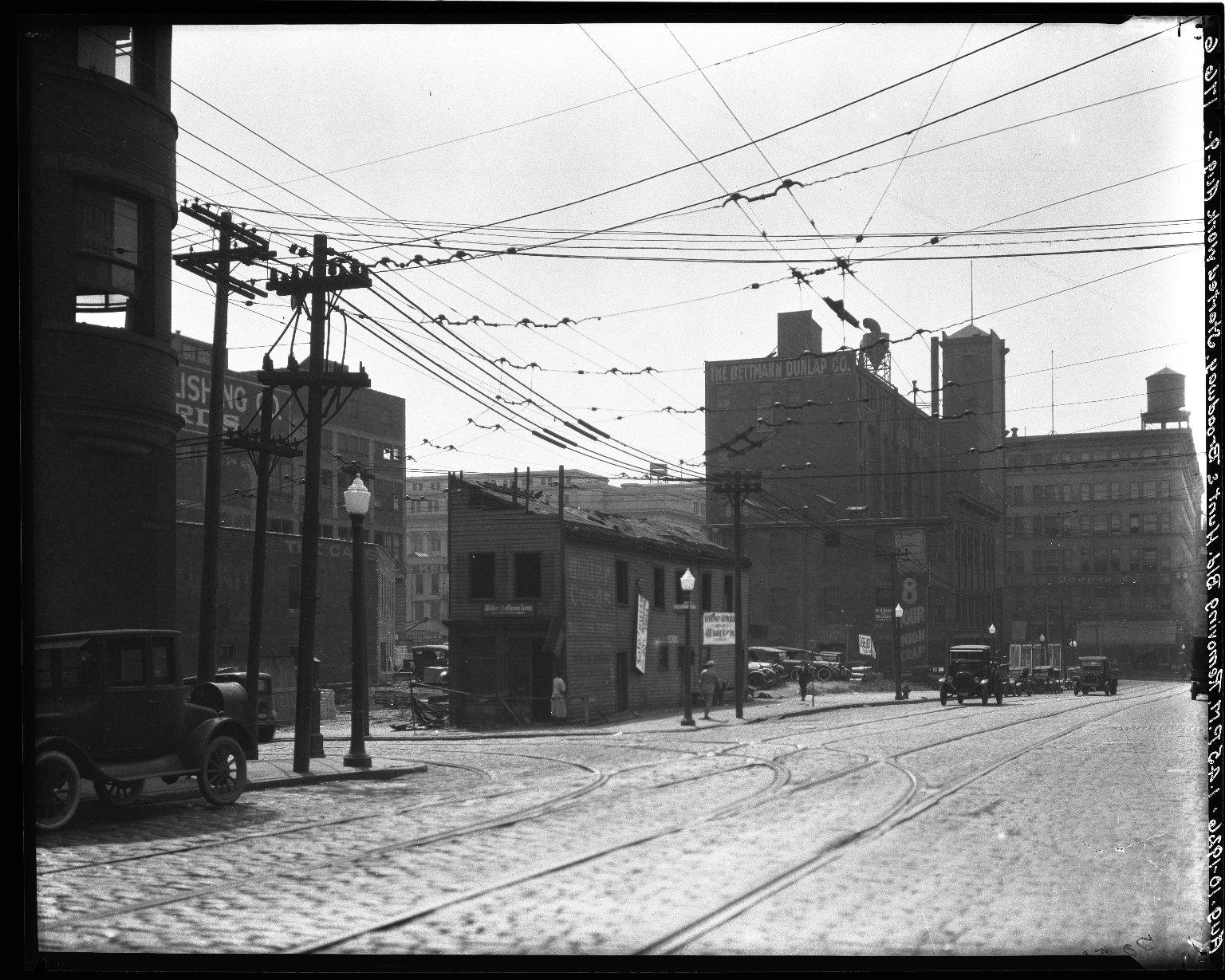 Rapid Transit Photographs -- Box 18, Folder 28 (June 3, 1926 - August 10, 1926) -- negative, 1926-08-10, 1:45 P.M.