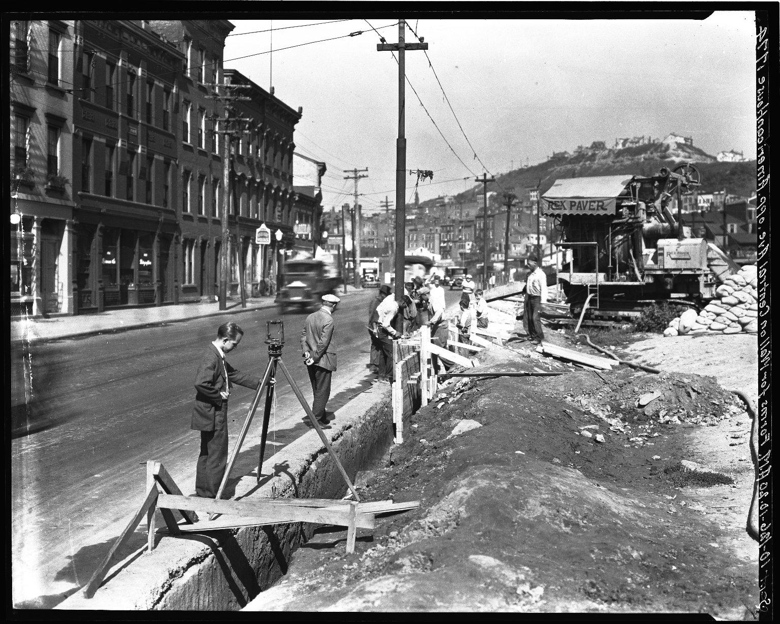Rapid Transit Photographs -- Box 18, Folder 29 (August 10, 1926 - September 10, 1926) -- negative, 1926-09-10, 10:20 A.M.