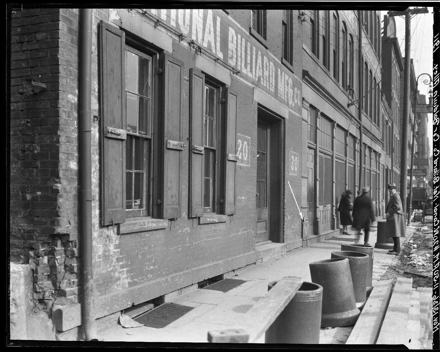 Rapid Transit Photographs -- Box 19, Folder 06 (November 13, 1926 - November 17, 1926) -- negative, 1926-11-13, 11:50 A.M.