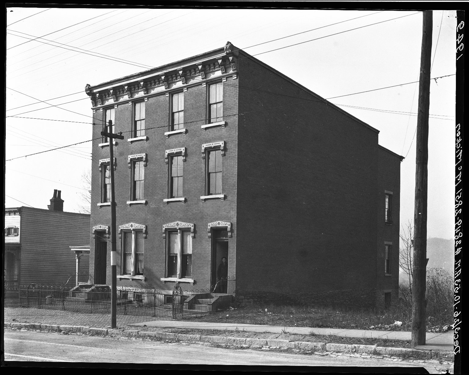 Rapid Transit Photographs -- Box 19, Folder 12 (December 2, 1926 - December 3, 1926) -- negative, 1926-12-03, 10:53 A.M.