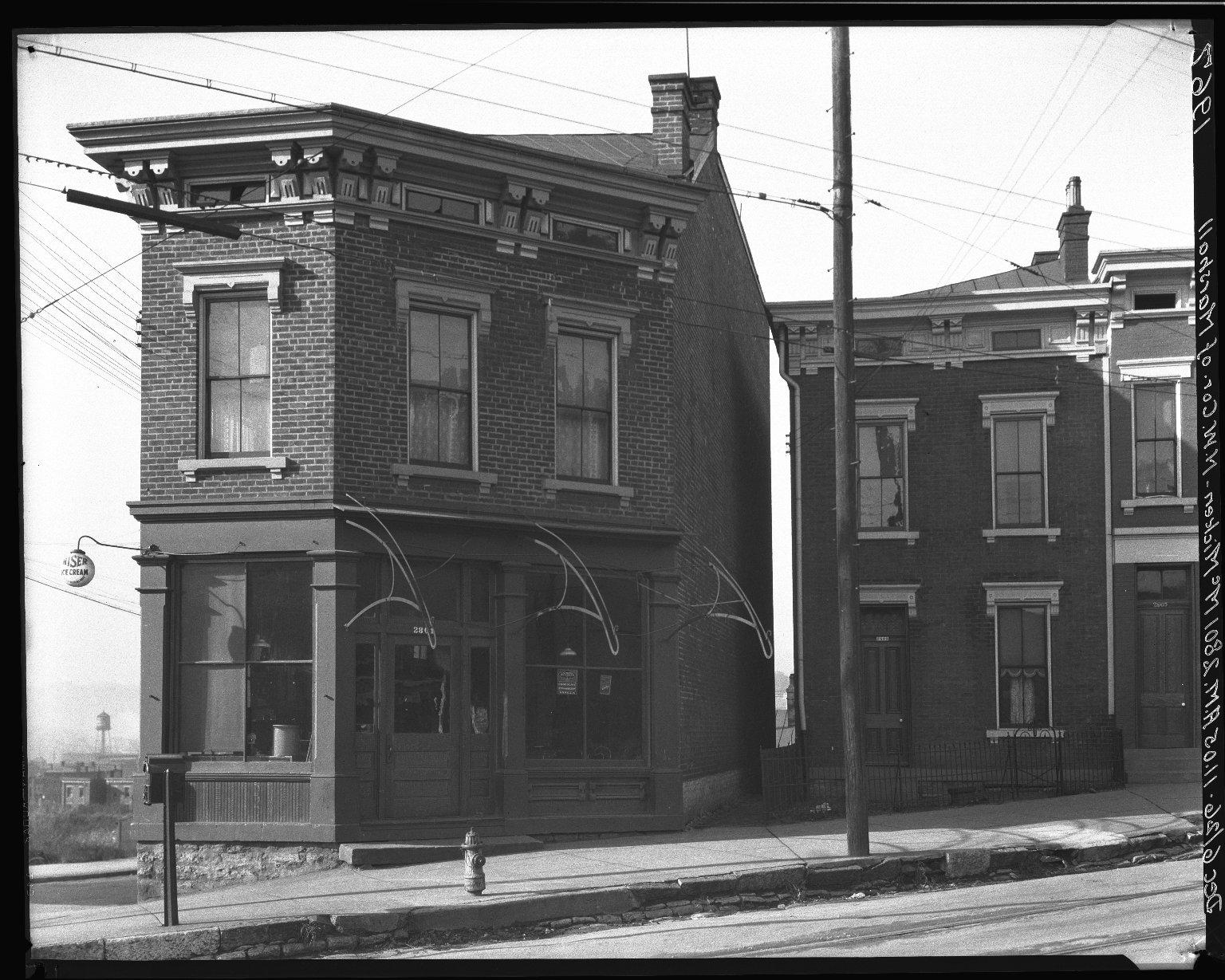 Rapid Transit Photographs -- Box 19, Folder 15 (December 6, 1926) -- negative, 1926-12-06, 11:05 A.M.