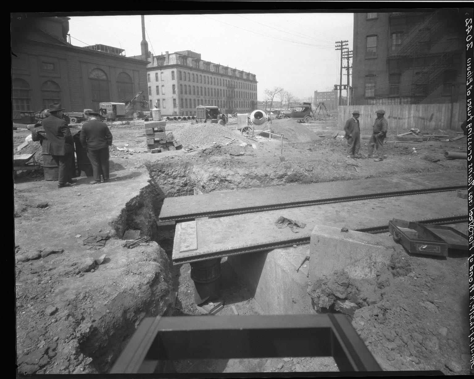 Rapid Transit Photographs -- Box 19, Folder 27 (April 7, 1927 - April 11, 1927) -- negative, 1927-04-11, 12:27 P.M.