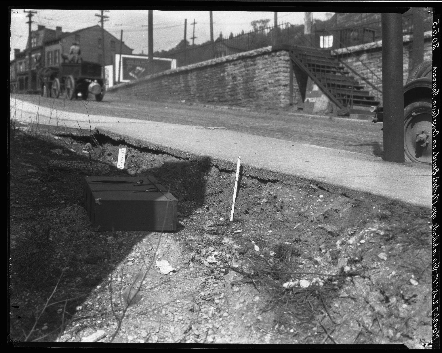 Rapid Transit Photographs -- Box 19, Folder 30 (May 2, 1927) -- negative, 1927-05-02, 2:48 P.M.