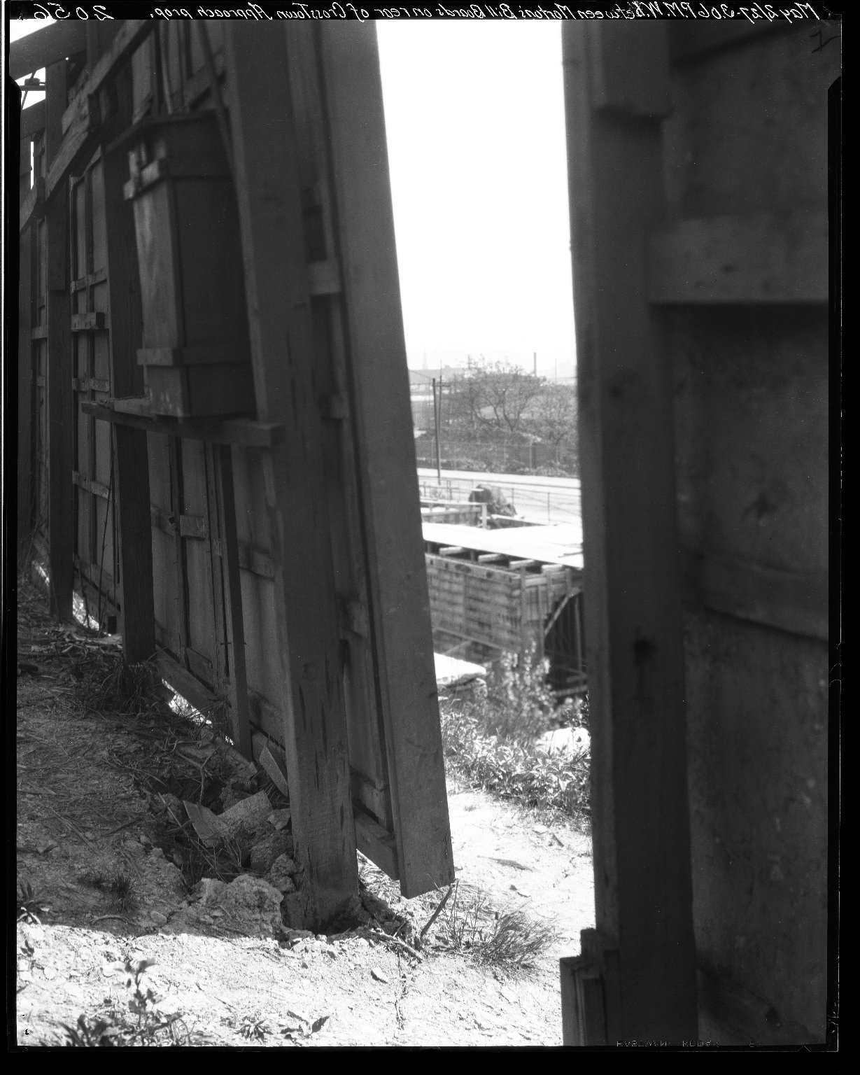 Rapid Transit Photographs -- Box 19, Folder 30 (May 2, 1927) -- negative, 1927-05-02, 3:06 P.M.