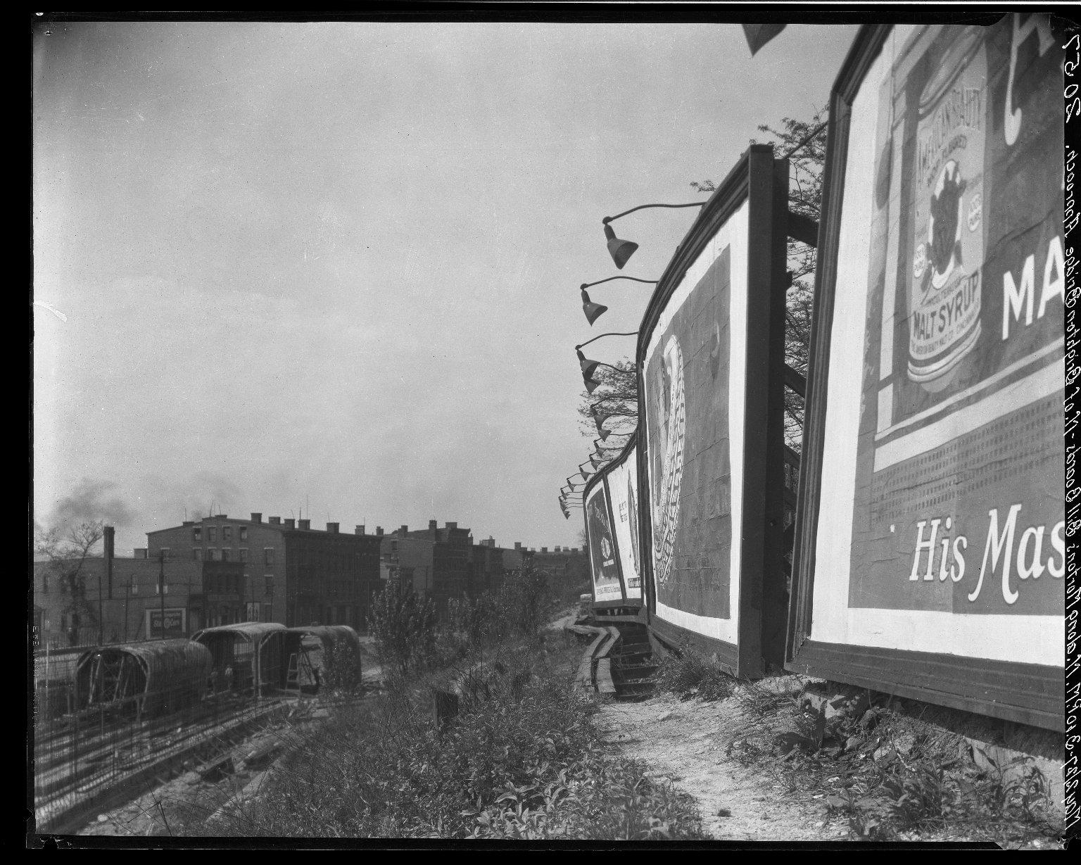 Rapid Transit Photographs -- Box 19, Folder 30 (May 2, 1927) -- negative, 1927-05-02, 3:10 P.M.