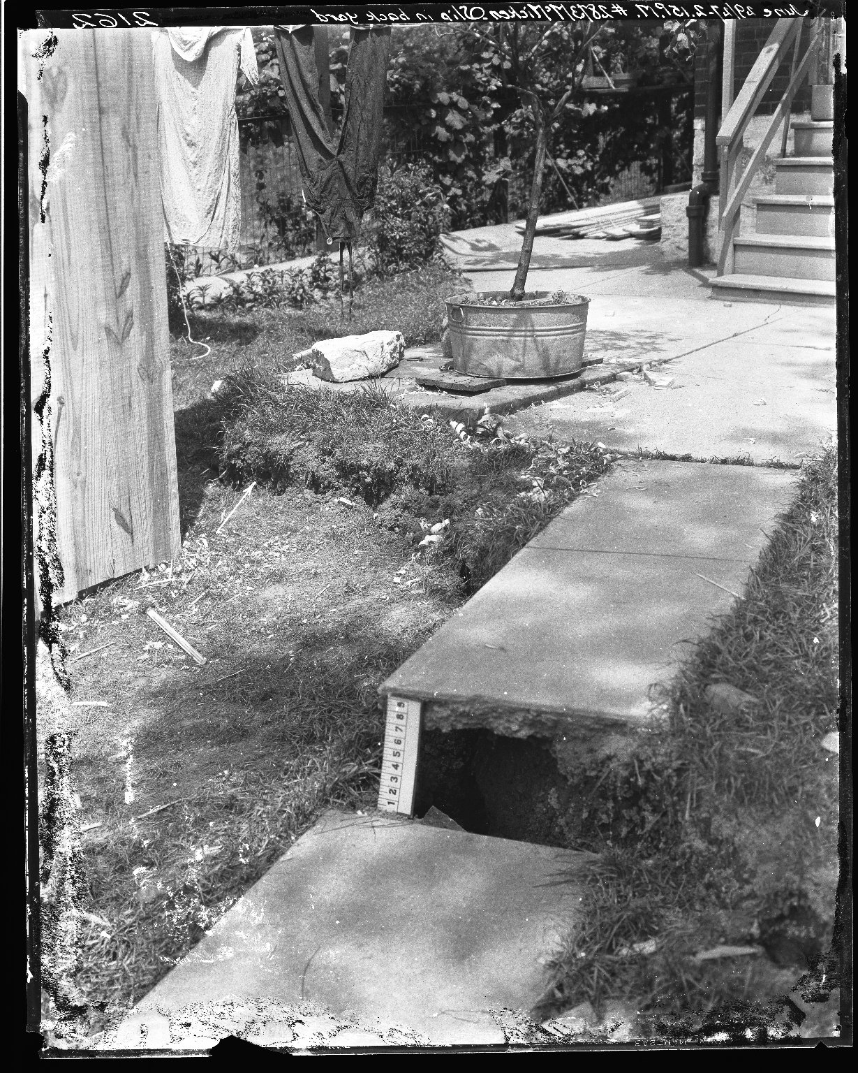 Rapid Transit Photographs -- Box 19, Folder 44 (June 29, 1927) -- negative, 1927-06-29, 2:15 P.M.