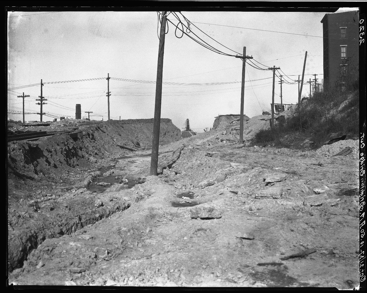 Rapid Transit Photographs -- Box 20, Folder 21 (October 21, 1927) -- negative, 1927-10-21, 10:50 A.M.