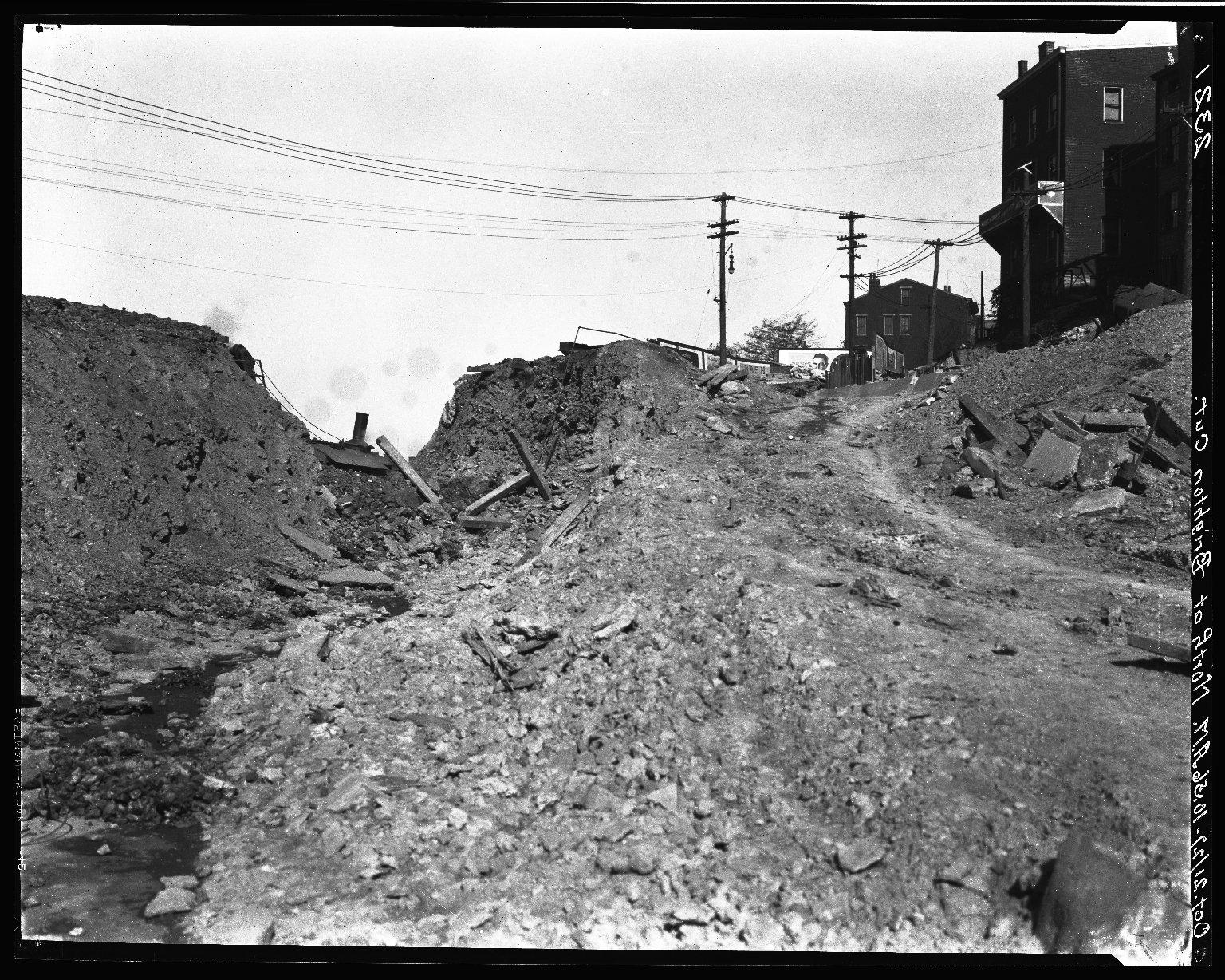 Rapid Transit Photographs -- Box 20, Folder 22 (October 21, 1927) -- negative, 1927-10-21, 10:56 A.M.