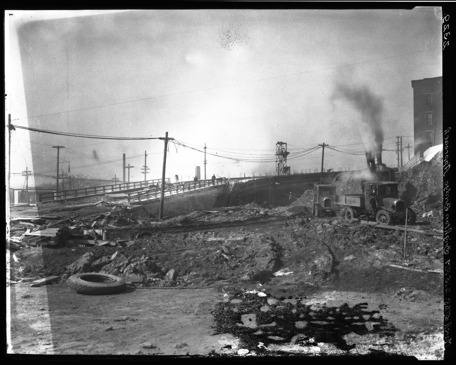 Rapid Transit Photographs -- Box 20, Folder 23 (October 21, 1927 - March 5, 1928) -- negative, 1928-03-05, 2:15 P.M.
