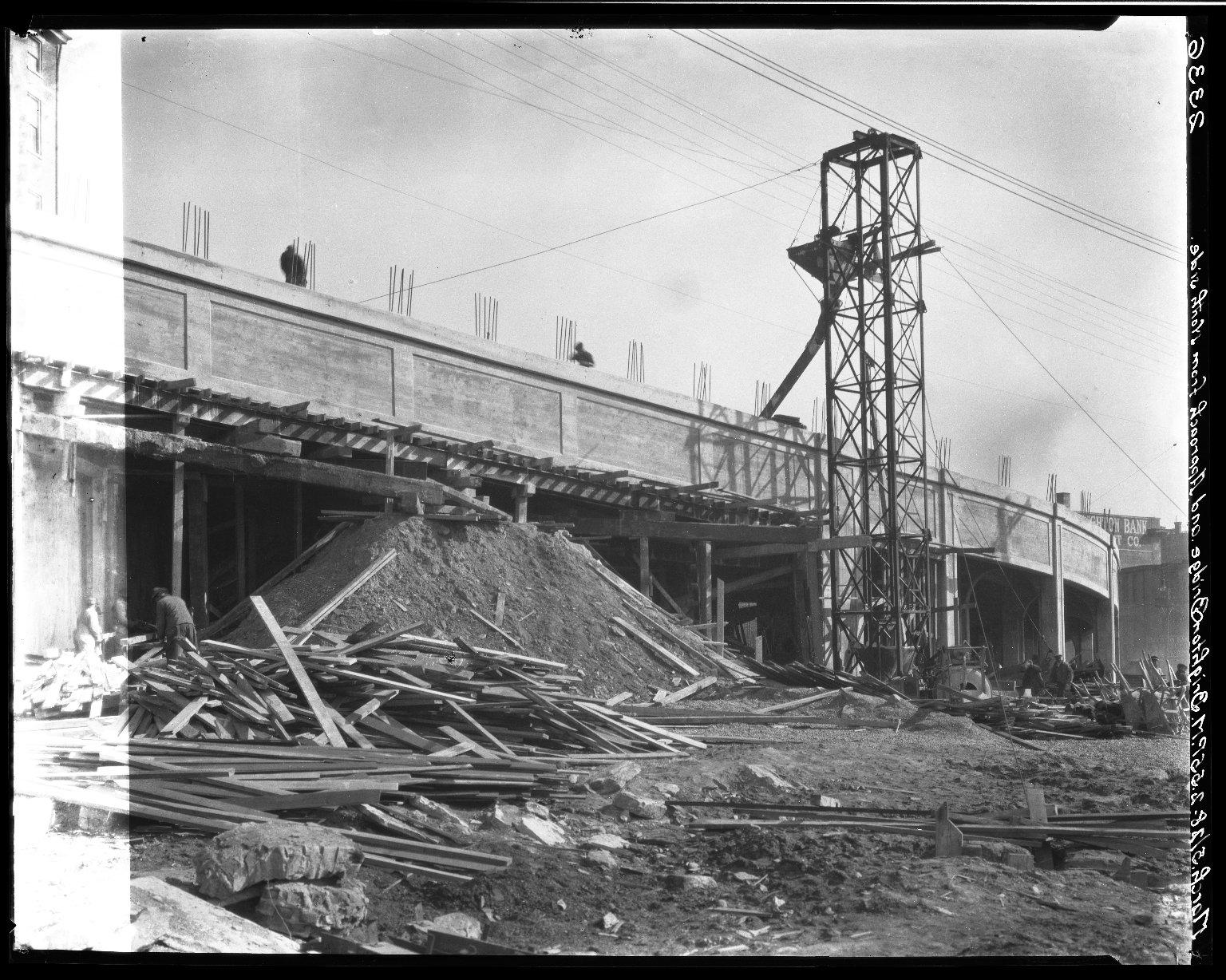 Rapid Transit Photographs -- Box 20, Folder 23 (October 21, 1927 - March 5, 1928) -- negative, 1928-03-05, 2:55 P.M.