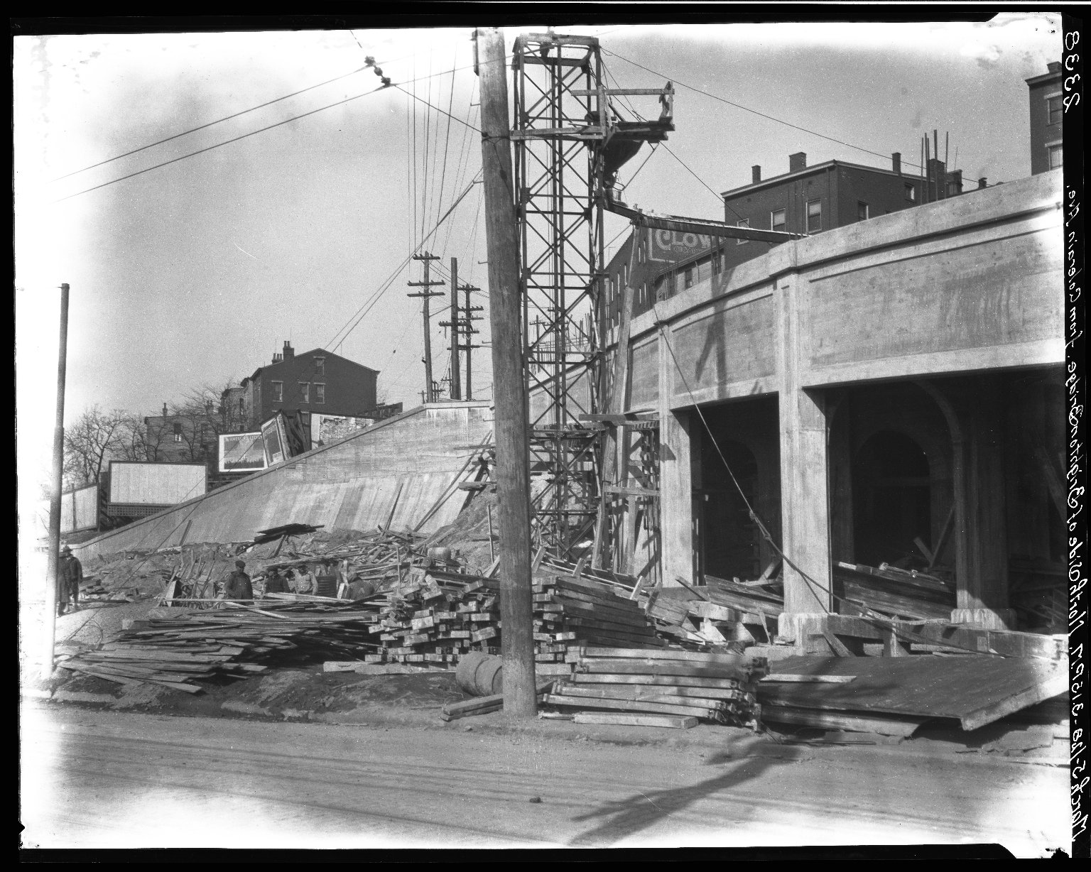 Rapid Transit Photographs -- Box 20, Folder 24 (March 5, 1928 - April 16, 1928) -- negative, 1928-03-05, 3:15 P.M.