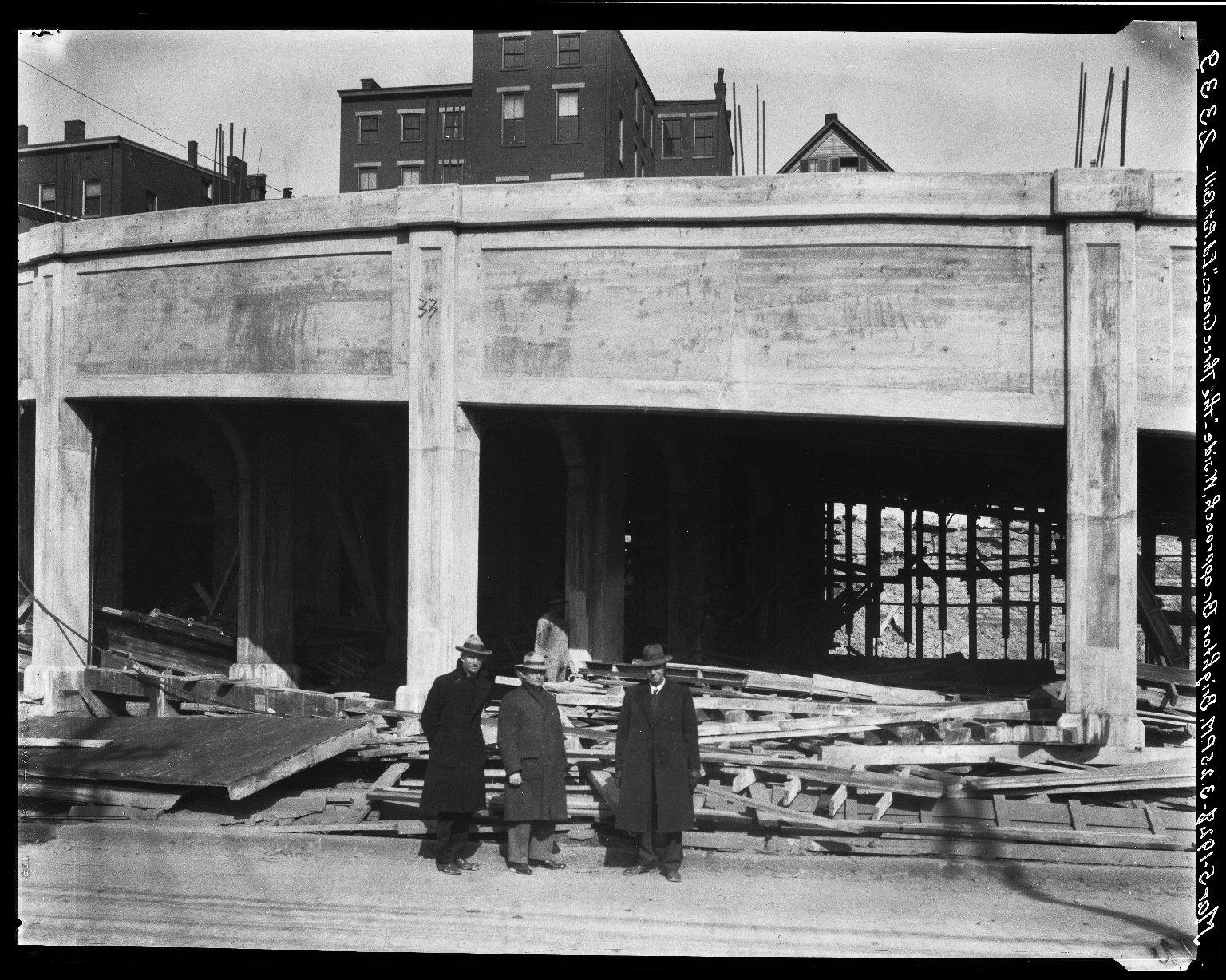 Rapid Transit Photographs -- Box 20, Folder 24 (March 5, 1928 - April 16, 1928) -- negative, 1928-03-05, 3:25 P.M.