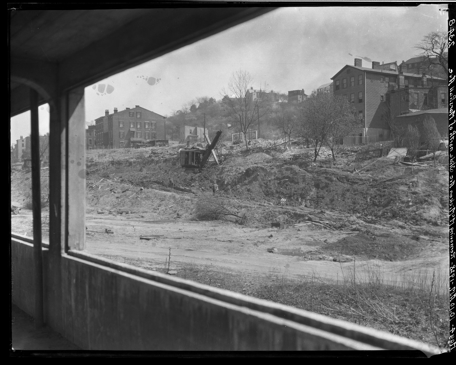 Rapid Transit Photographs -- Box 20, Folder 27 (May 4, 1928 - May 7, 1928) -- negative, 1928-05-04, 10:10 A.M.