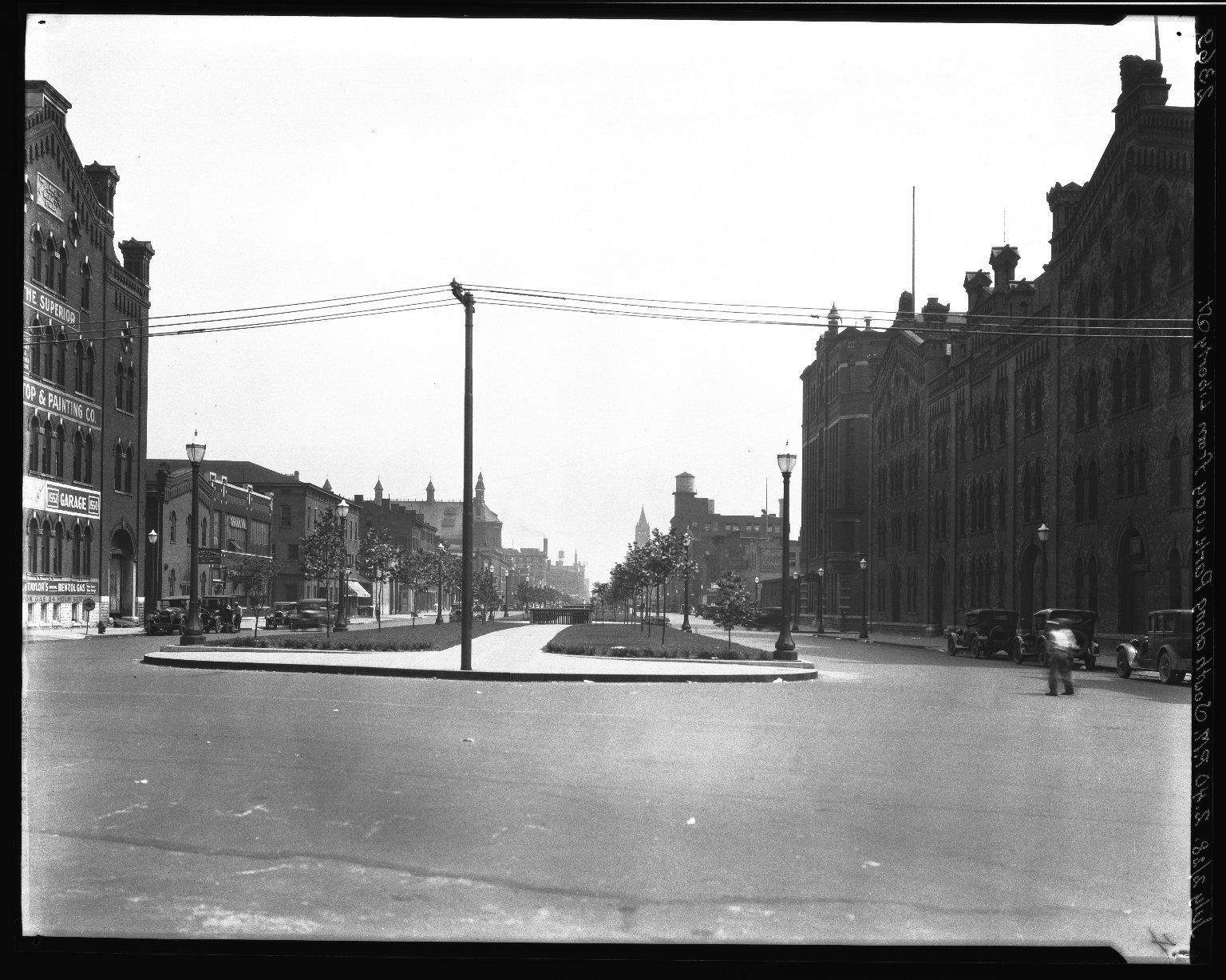 Rapid Transit Photographs -- Box 20, Folder 28 (July 2, 1928) -- negative, 1928-07-02, 2:40 P.M.