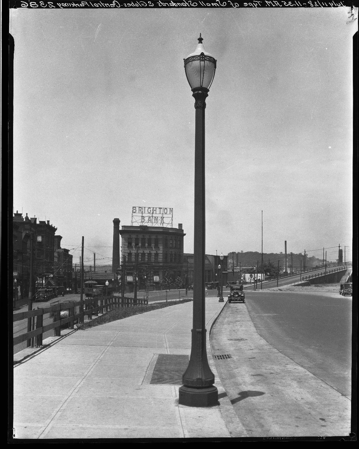 Rapid Transit Photographs -- Box 20, Folder 31 (July 11, 1928) -- negative, 1928-07-11, 11:35 A.M.