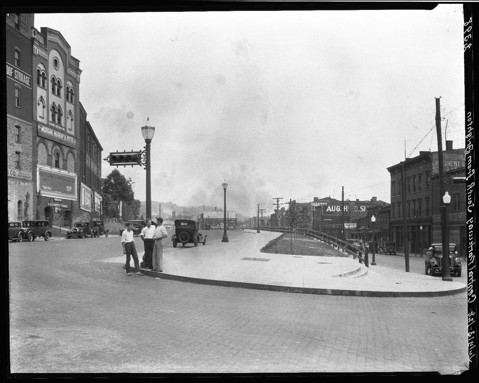 Rapid Transit Photographs -- Box 20, Folder 32 (July 11, 1928 - July 14, 1928) -- negative, 1928-07-13