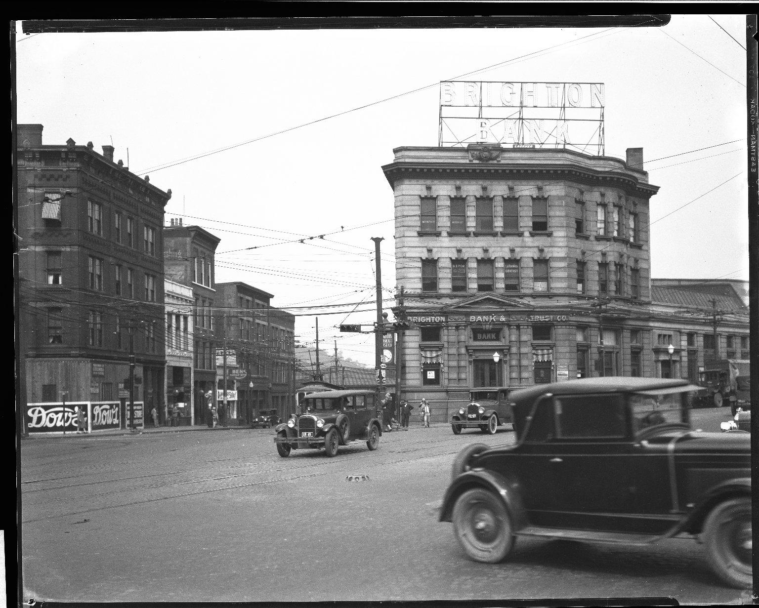 Street Improvement Photographs -- Box 32, Folder 45 (Central Avenue) -- negative, 1928