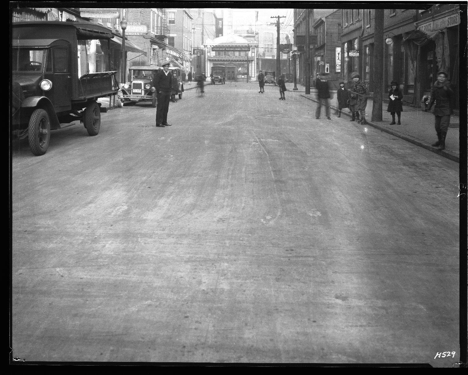 Street Improvement Photographs -- Box 35, Folder 03 (Elder Street) -- negative, 1928