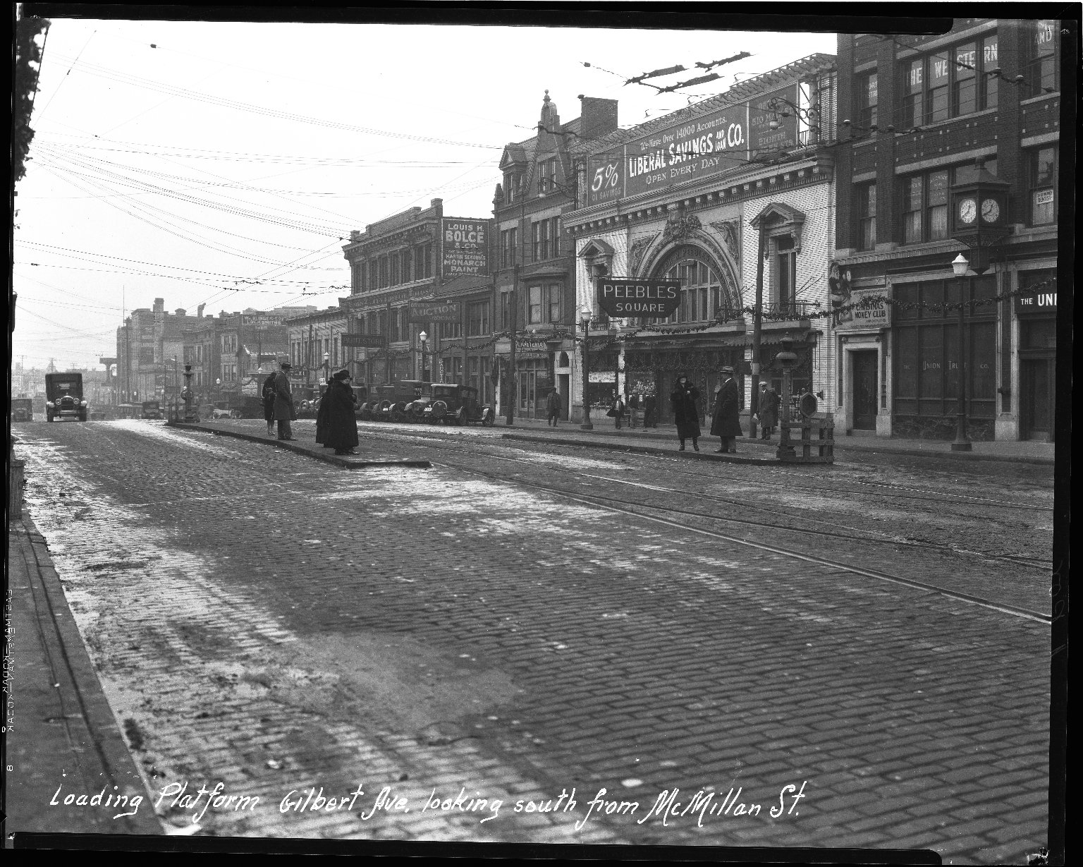 Street Improvement Photographs -- Box 36, Folder 06 (Gilbert Avenue) -- negative, 1927
