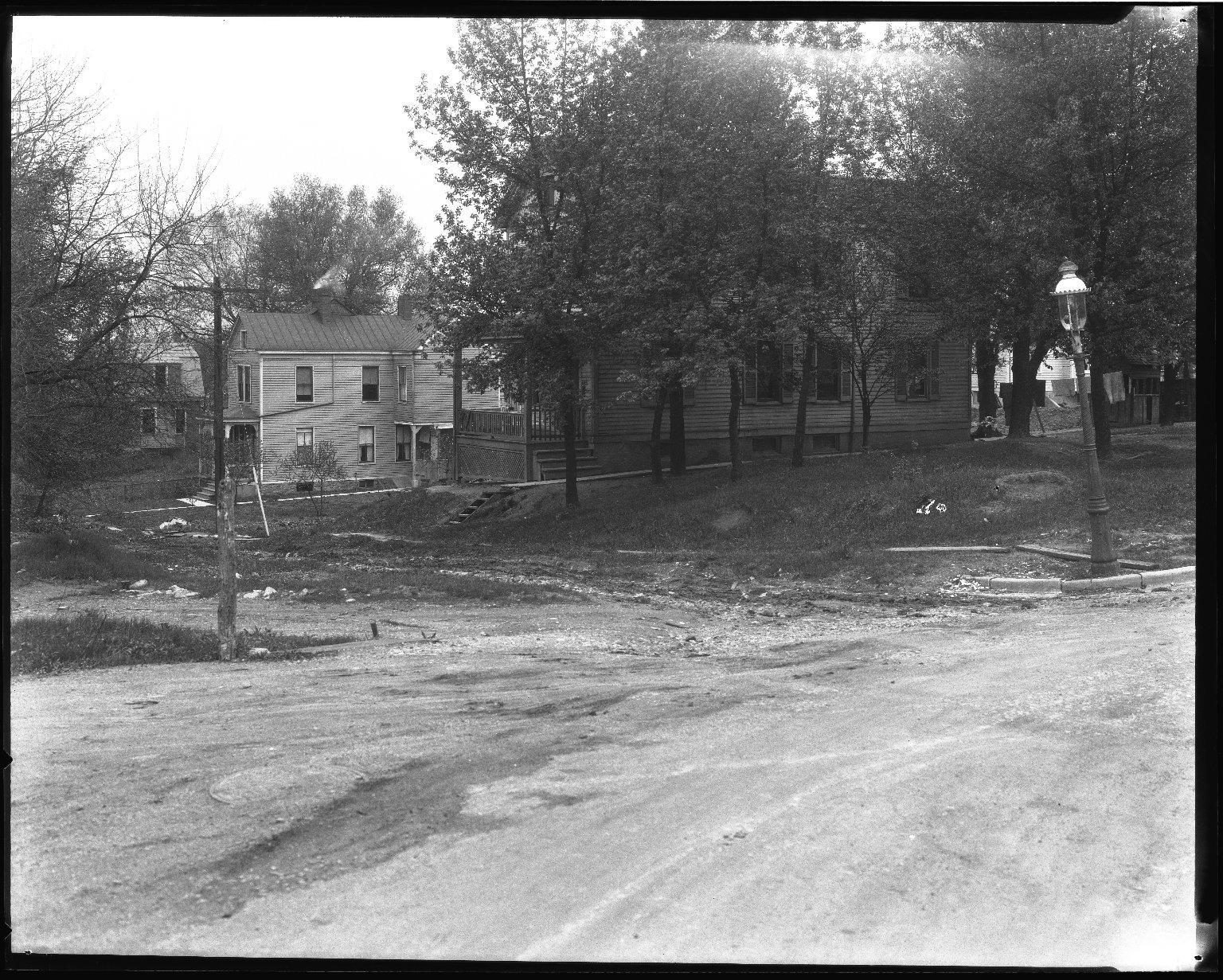 Street Improvement Photographs -- Box 39, Folder 15 (Lilac Avenue) -- negative, 1928