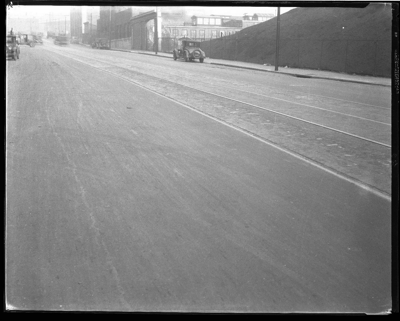 Street Improvement Photographs -- Box 39, Folder 25 (Lockland Avenue) -- negative, 1927