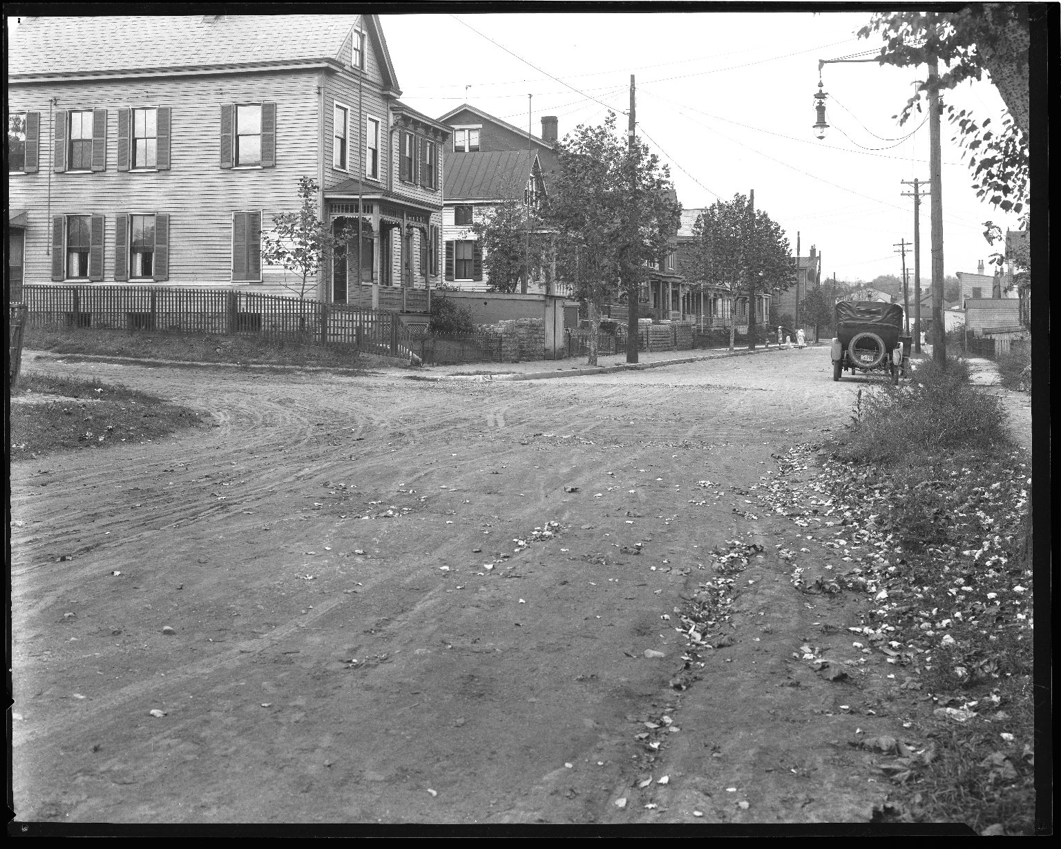 Street Improvement Photographs -- Box 43, Folder 37 (Ralston Avenue) -- negative, 1924