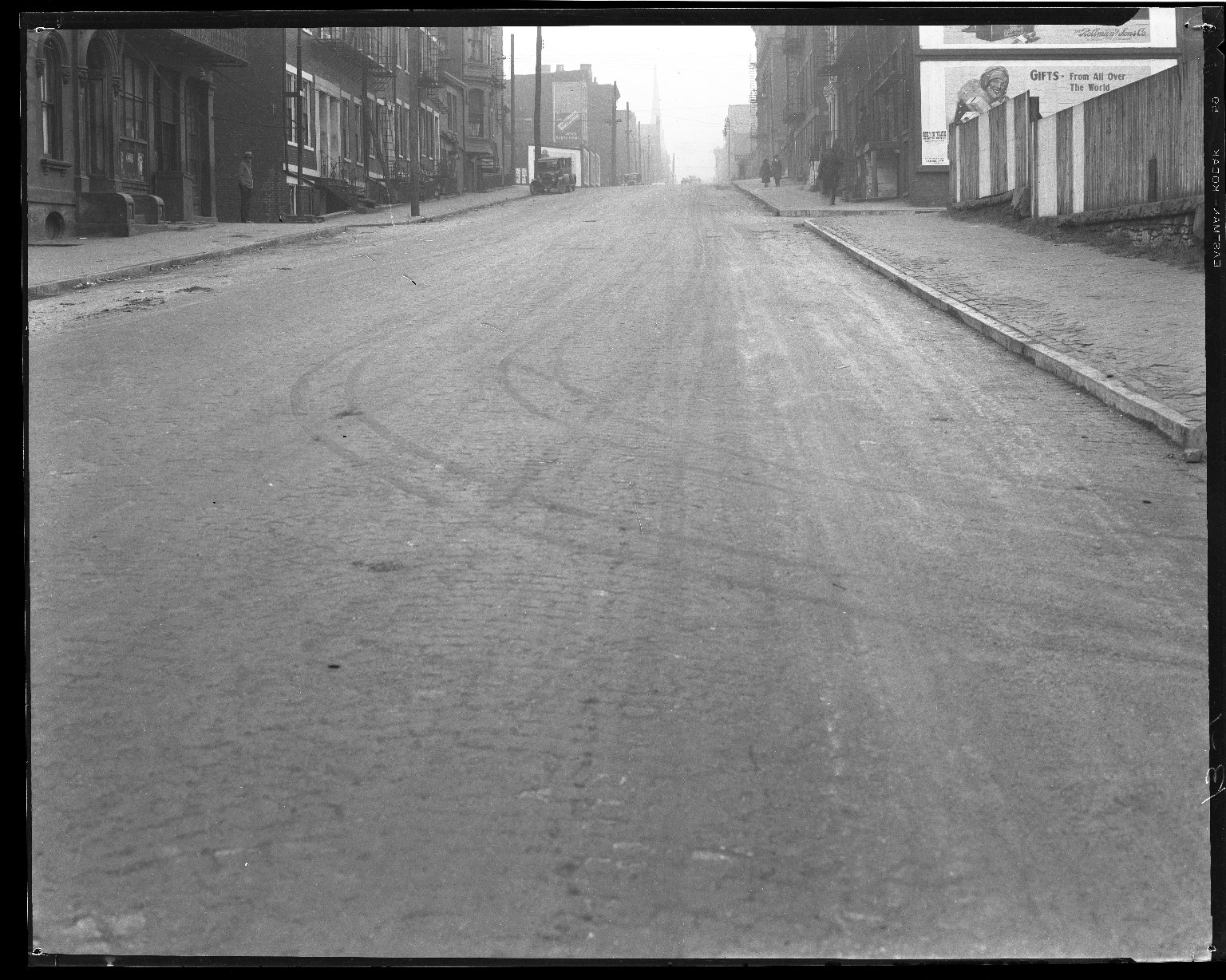 Street Improvement Photographs -- Box 45, Folder 15 (Smith Street) -- negative, 1927