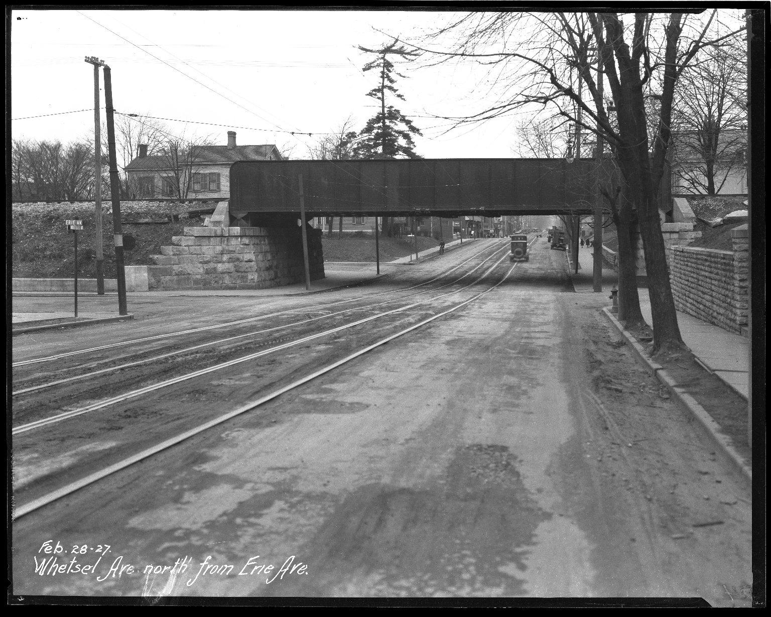 Street Improvement Photographs -- Box 47, Folder 17 (Whetsel Avenue) -- negative, 1927-02-28