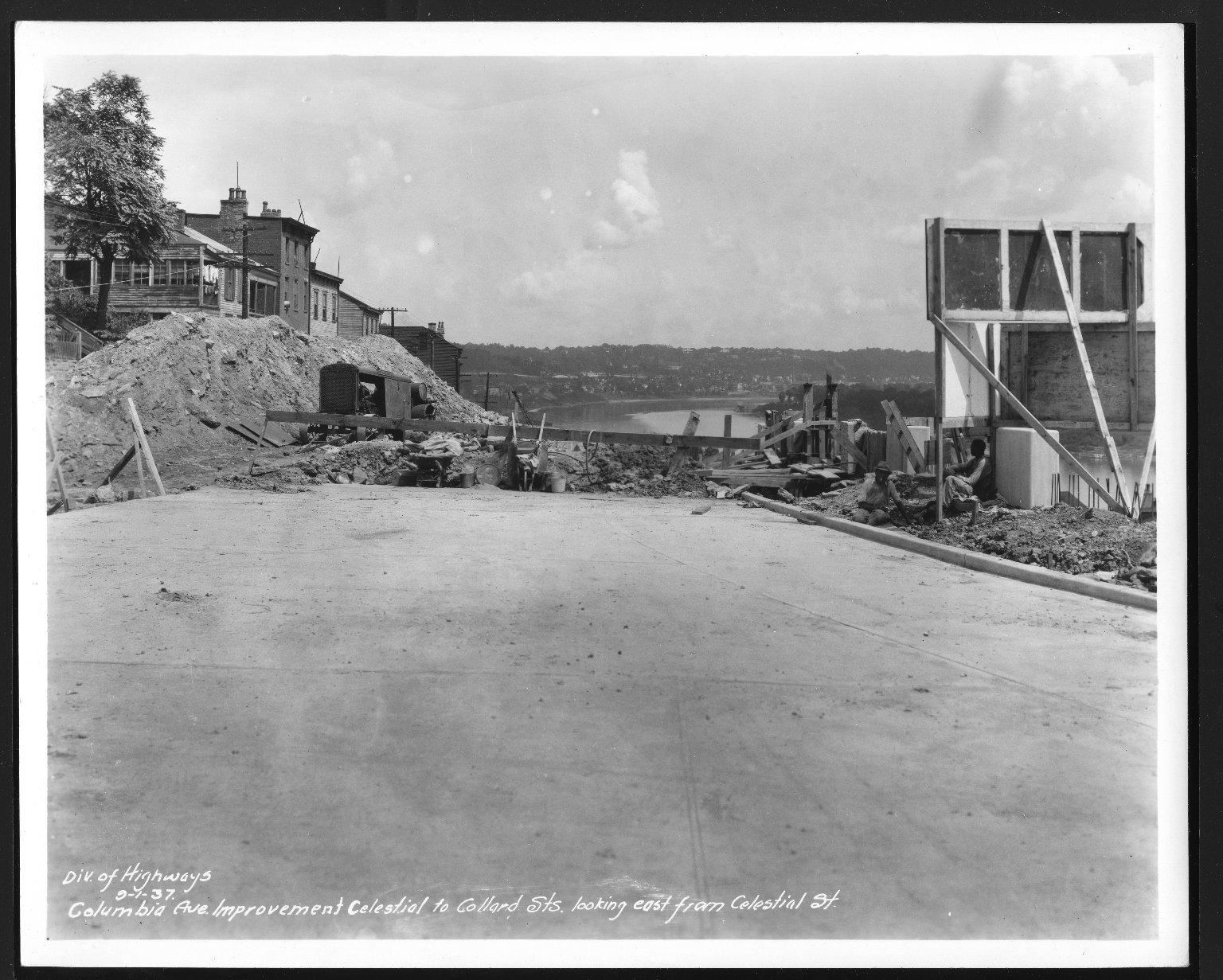 Street Improvement Photographs -- Box 48, Folder 23 (September 1, 1937 - September 4, 1937) -- print, 1937-09-01