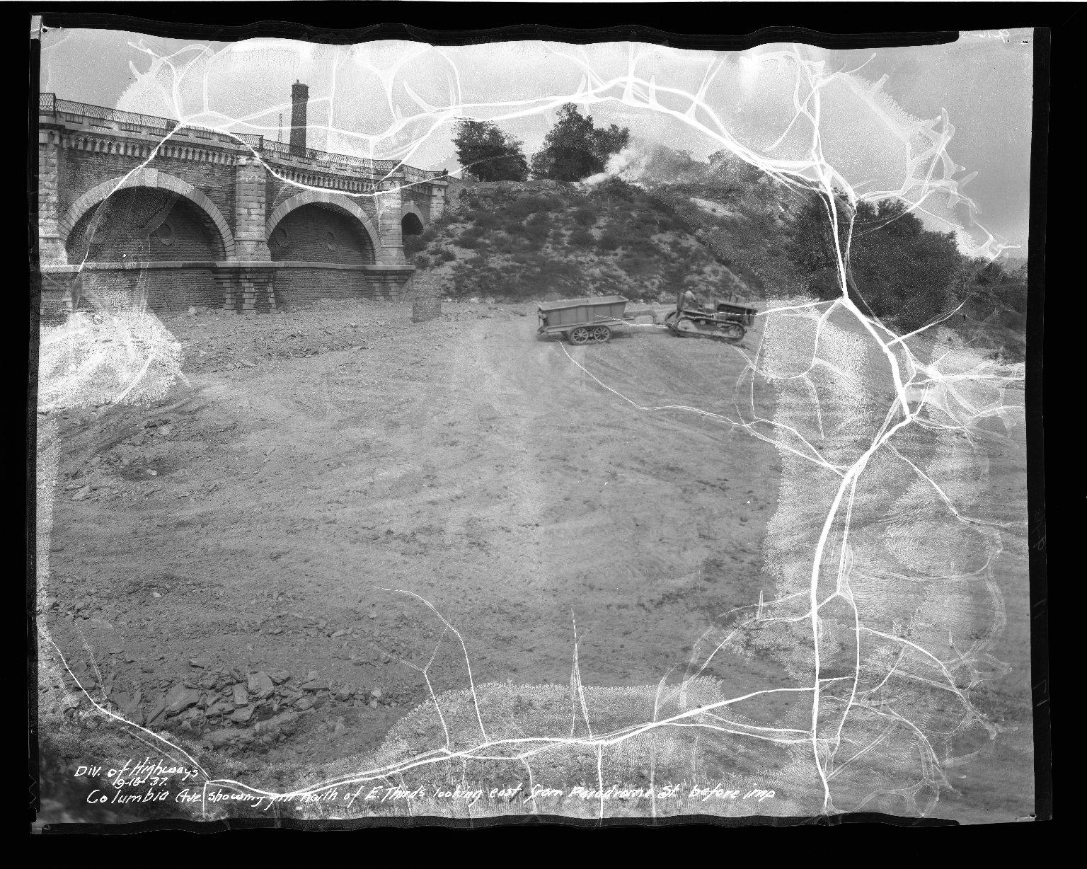 Street Improvement Photographs -- Box 50, Folder 15 (September 13, 1937 - September 16, 1937) -- negative, 1937-09-16