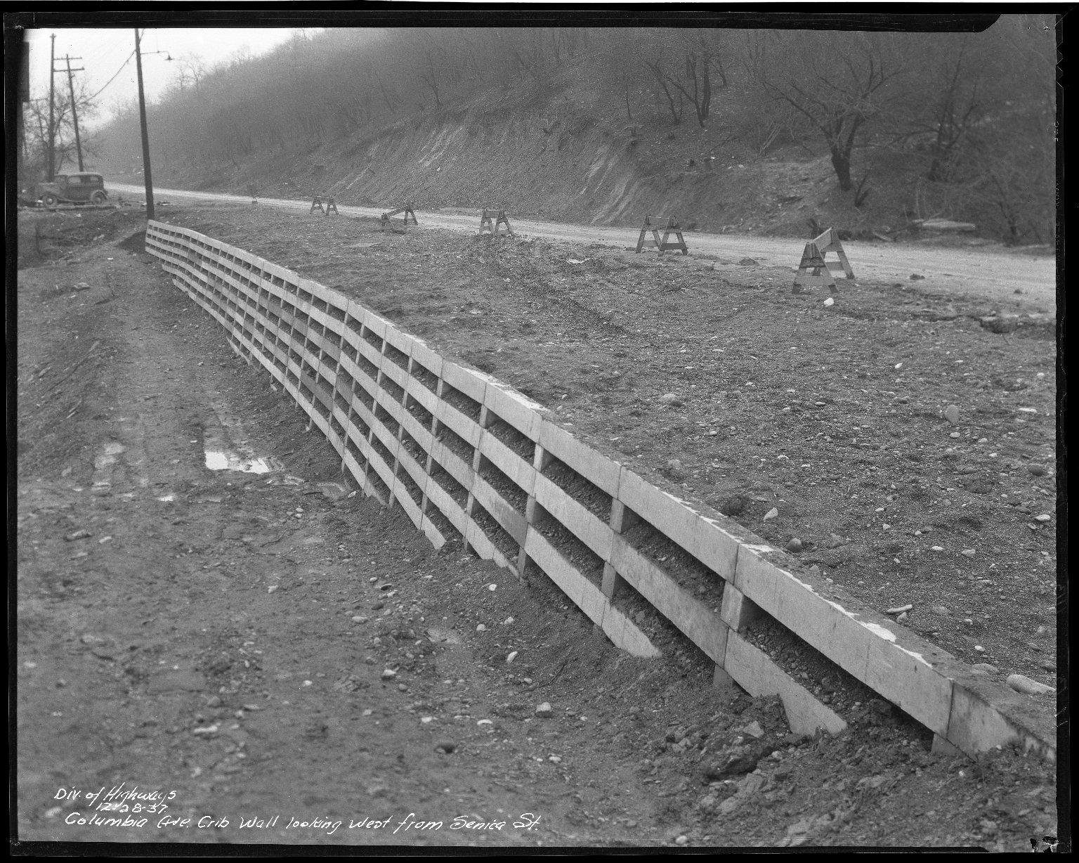 Street Improvement Photographs -- Box 50, Folder 17 (November 12, 1937 - December 28, 1937) -- negative, 1937-12-28