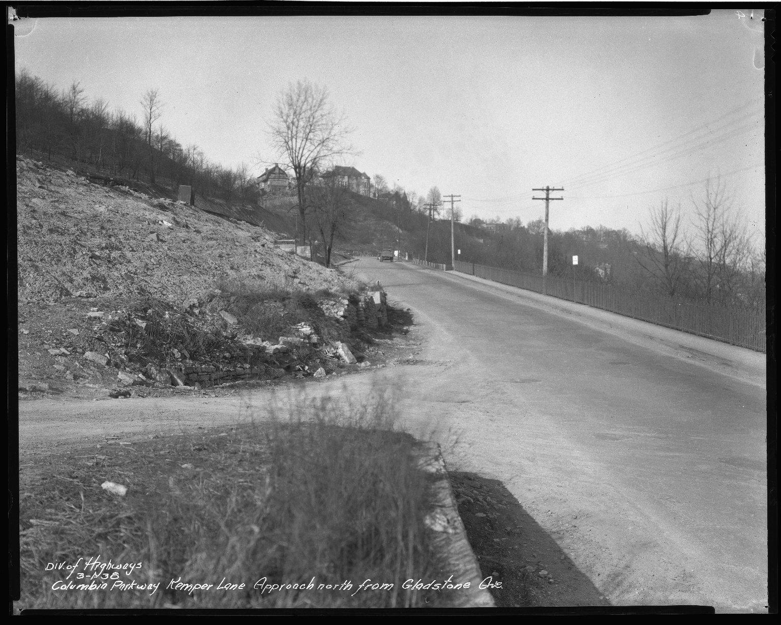 Street Improvement Photographs -- Box 50, Folder 18 (March 1, 1938) -- negative, 1938-03-01
