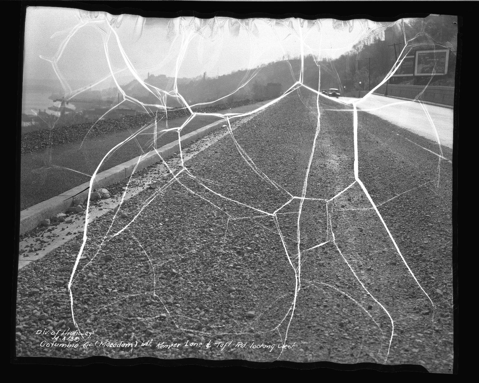 Street Improvement Photographs -- Box 50, Folder 21 (April 4, 1938 - April 6, 1938) -- negative, 1938-04-04