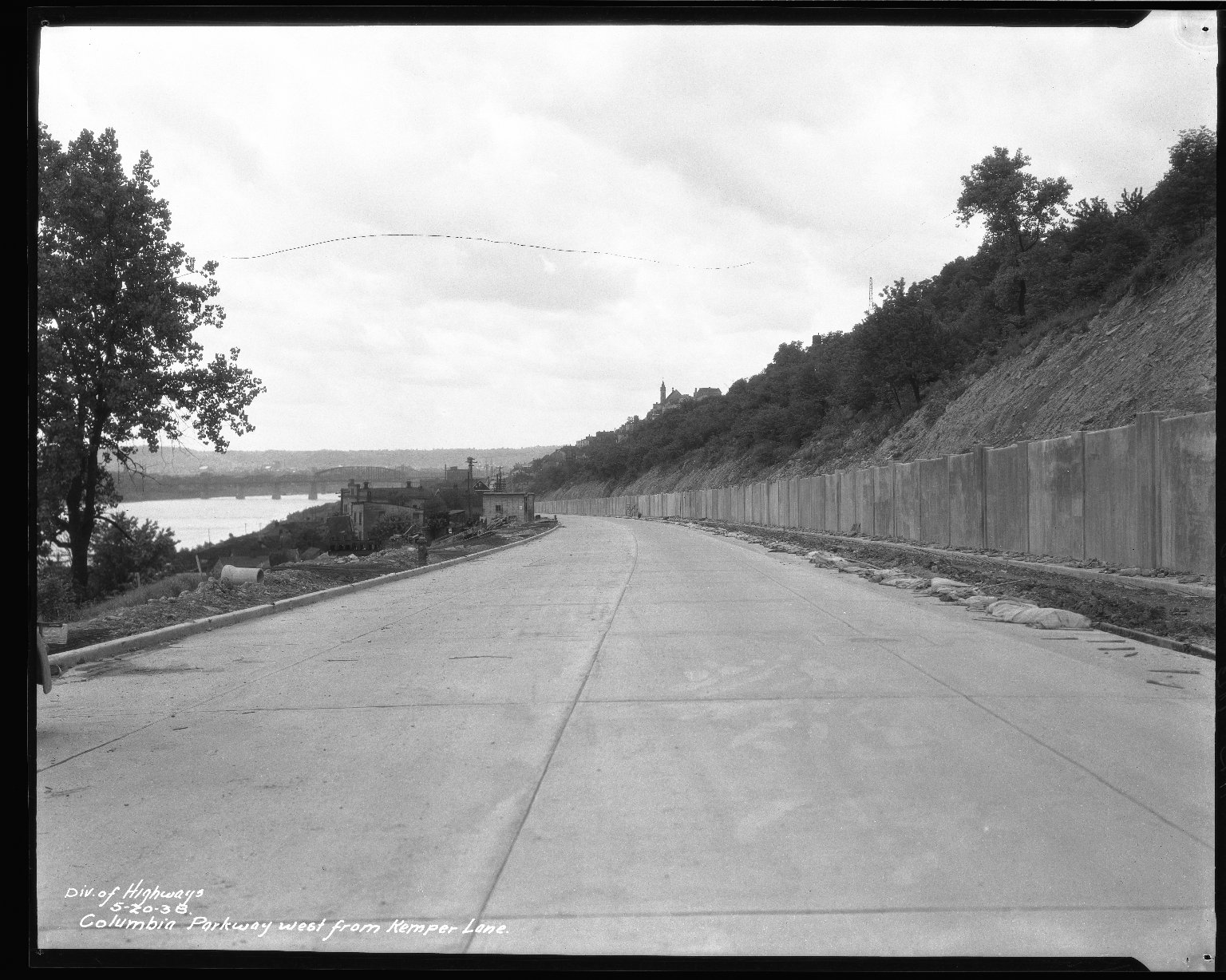 Street Improvement Photographs -- Box 50, Folder 22 (May 2, 1938 - June 27, 1938) -- negative, 1938-05-20