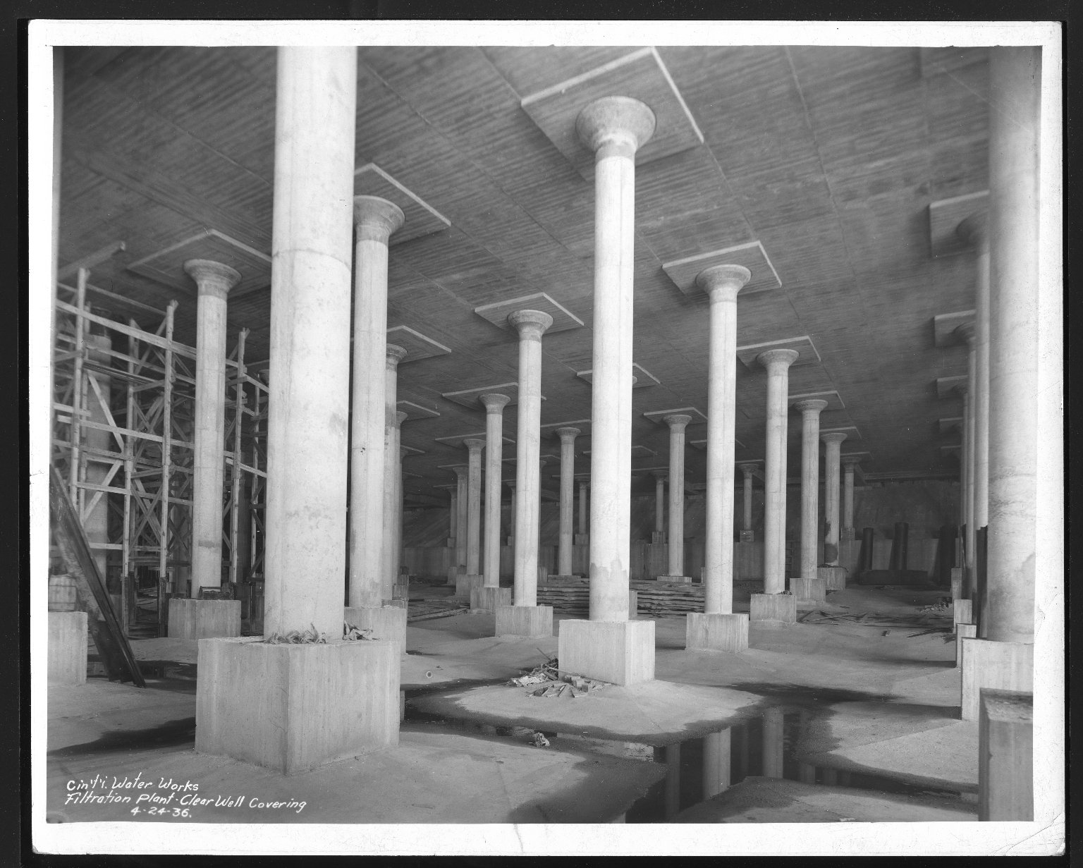 Miscellaneous Photographs -- Box 53, Folder 14 (Cincinnati Water Works) -- print, 1936-04-24