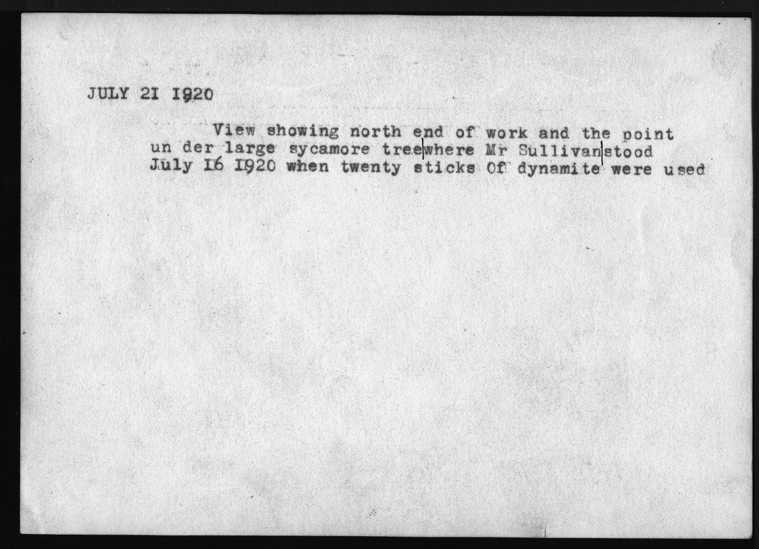 Miscellaneous Photographs -- Box 53, Folder 15 (Court Case Photos) -- print, 1920-07-21 (back of photograph)