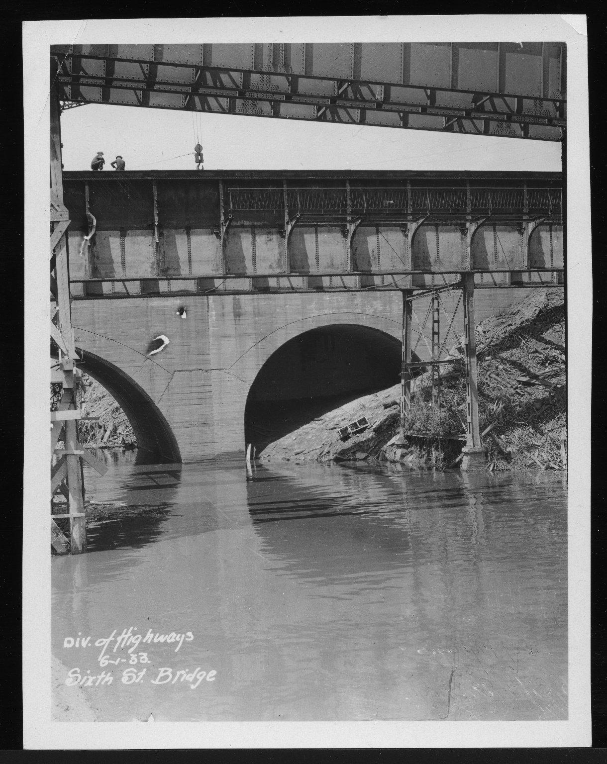 Miscellaneous Photographs -- Box 53, Folder 29 (Misc. Street improvements (small)) -- print, 1933-06-01