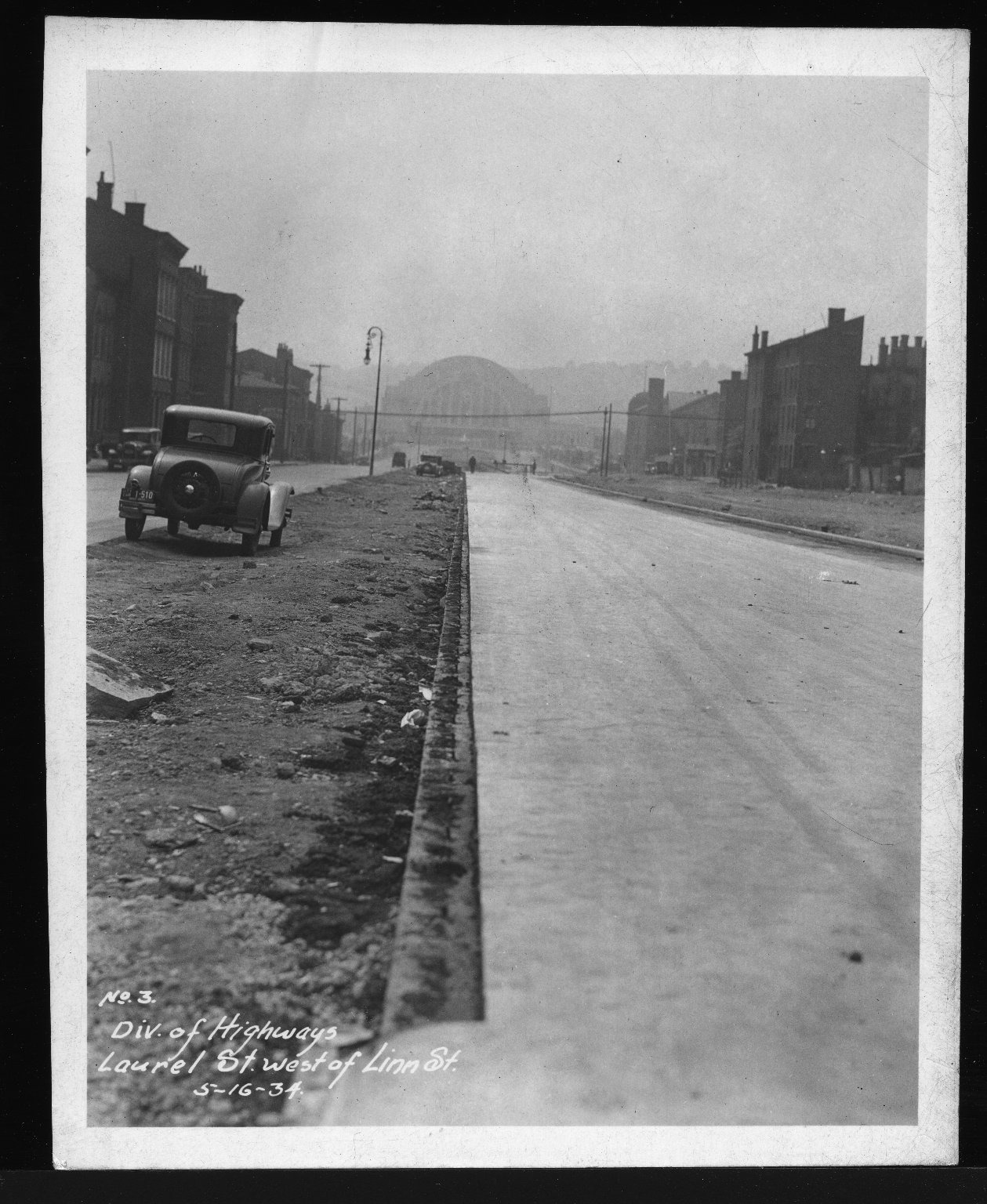 Miscellaneous Photographs -- Box 53, Folder 29 (Misc. Street improvements (small)) -- print, 1934-05-16