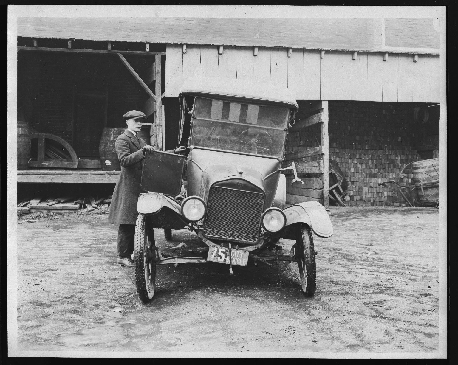 Miscellaneous Photographs -- Box 53, Folder 32 (Model T. Ford 1921) -- print, 1921