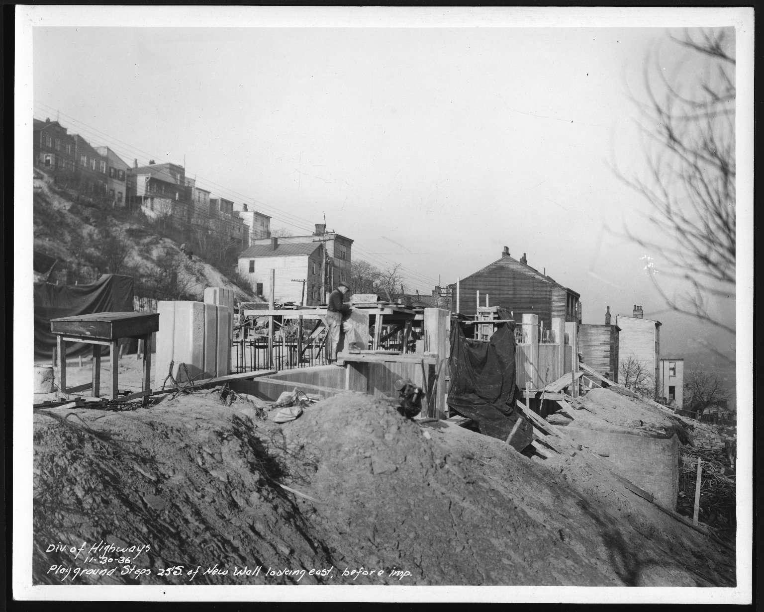 Miscellaneous Photographs -- Box 53, Folder 35 (Riverview Playground) -- print, 1936-11-30