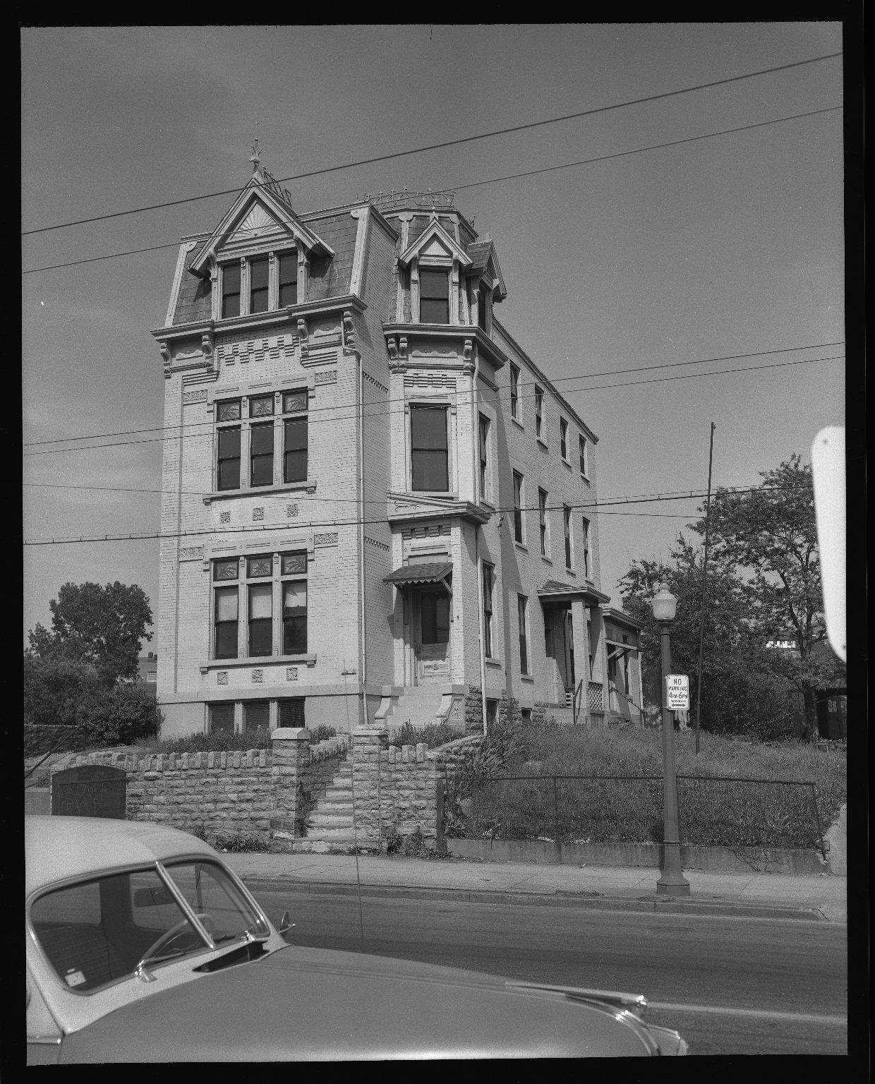Miscellaneous Photographs -- Box 54, Folder 10 (City of Cincinnati Expressways) -- negative, 1955-05-07