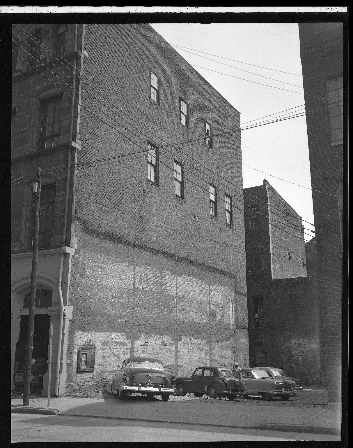 Miscellaneous Photographs -- Box 54, Folder 37 (Third Street Distributer Negatives) -- negative, 1955