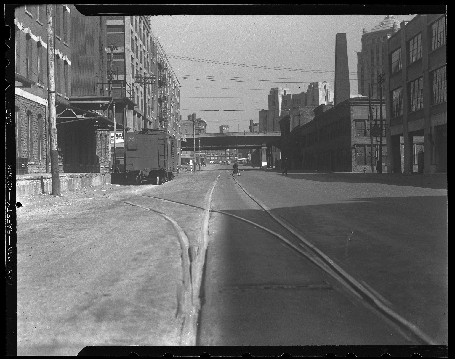 Miscellaneous Photographs -- Box 54, Folder 58 (Miscellaneous Street Improvements) -- negative, 1955