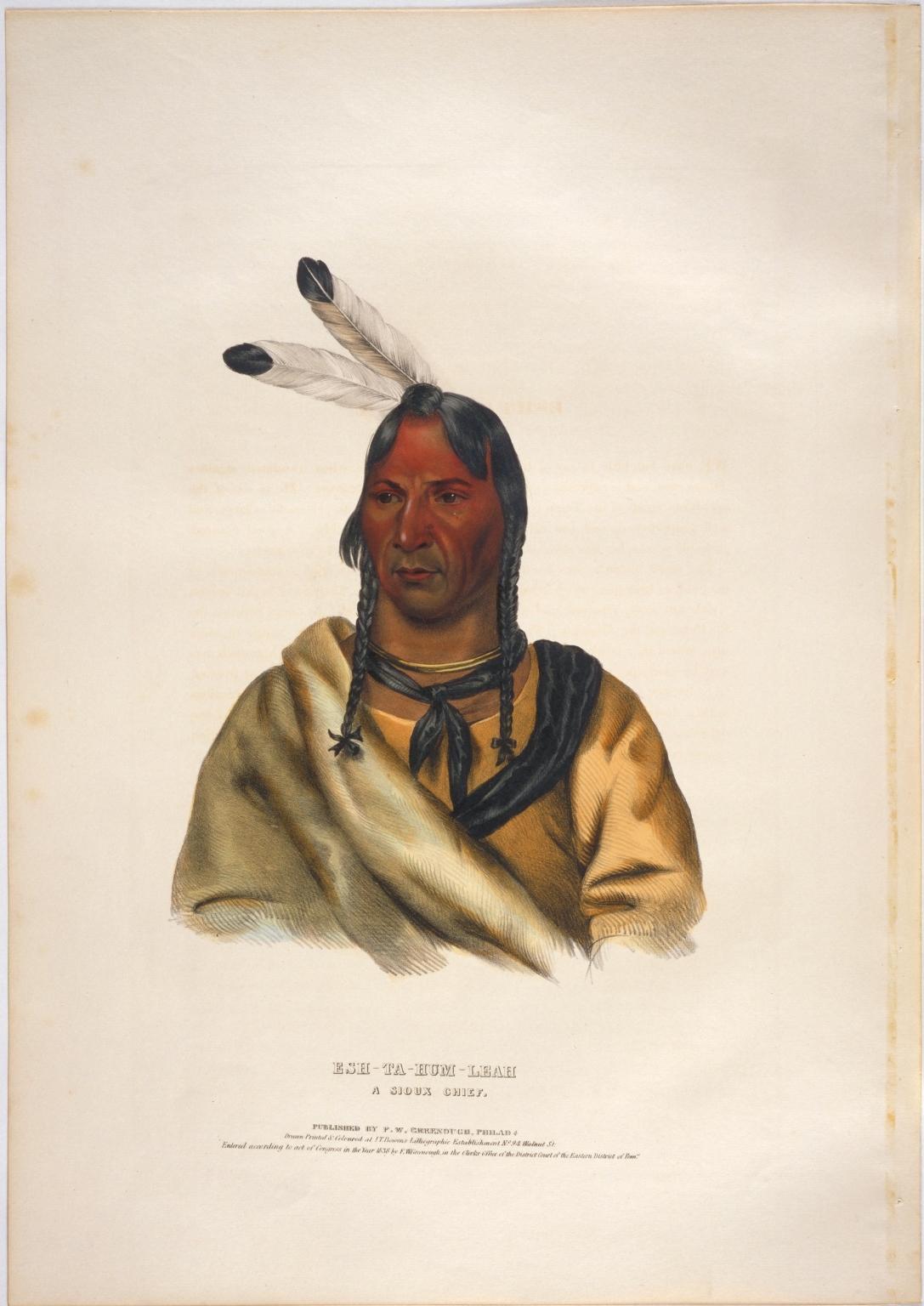 Esh-ta-hum-leah, a Sioux chief