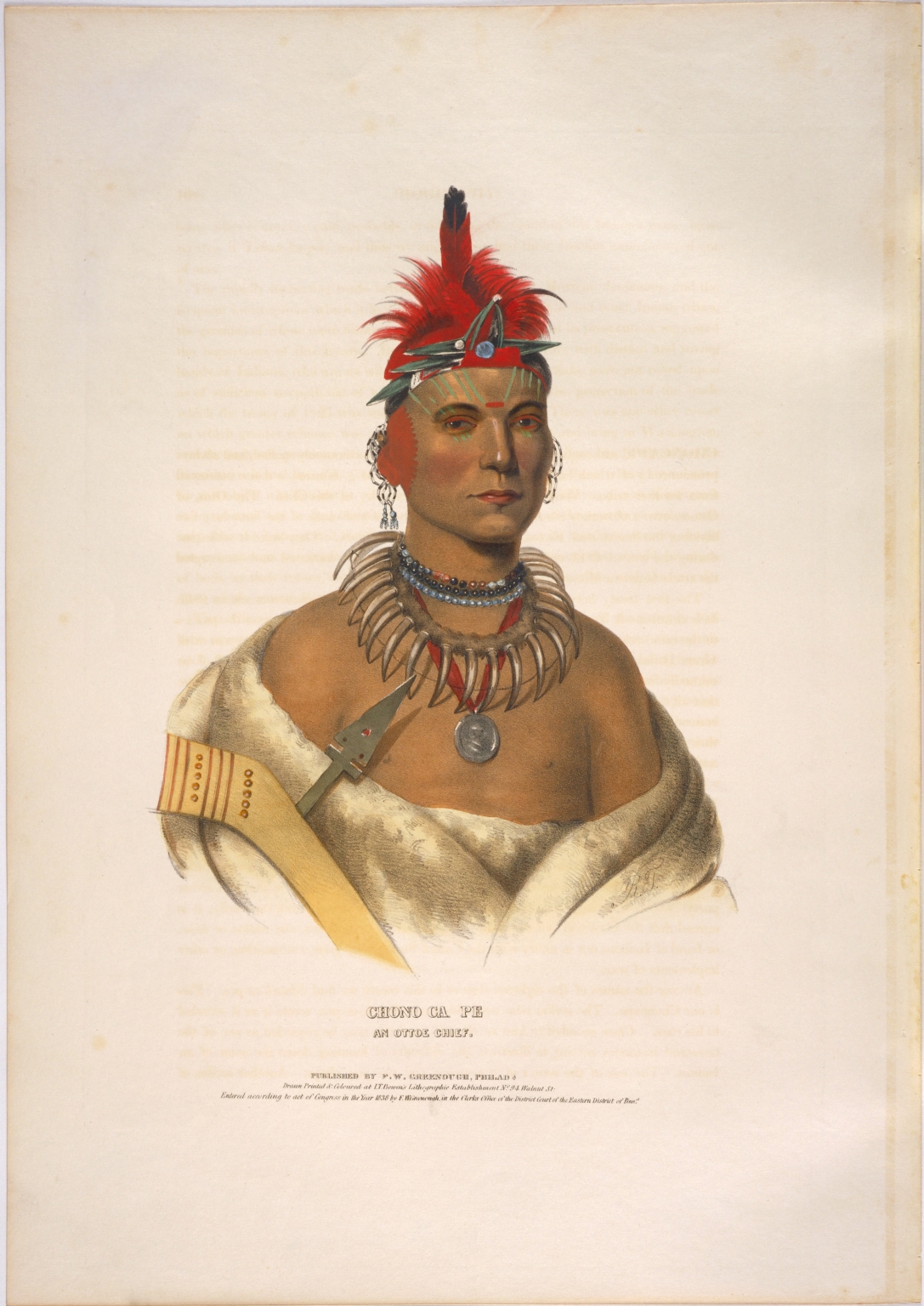 Chono Cape, an Ottoe chief